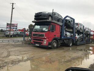 ciężarówka do przewozu samochodów VOLVO FM 440 + przyczepa do przewozu samochodów