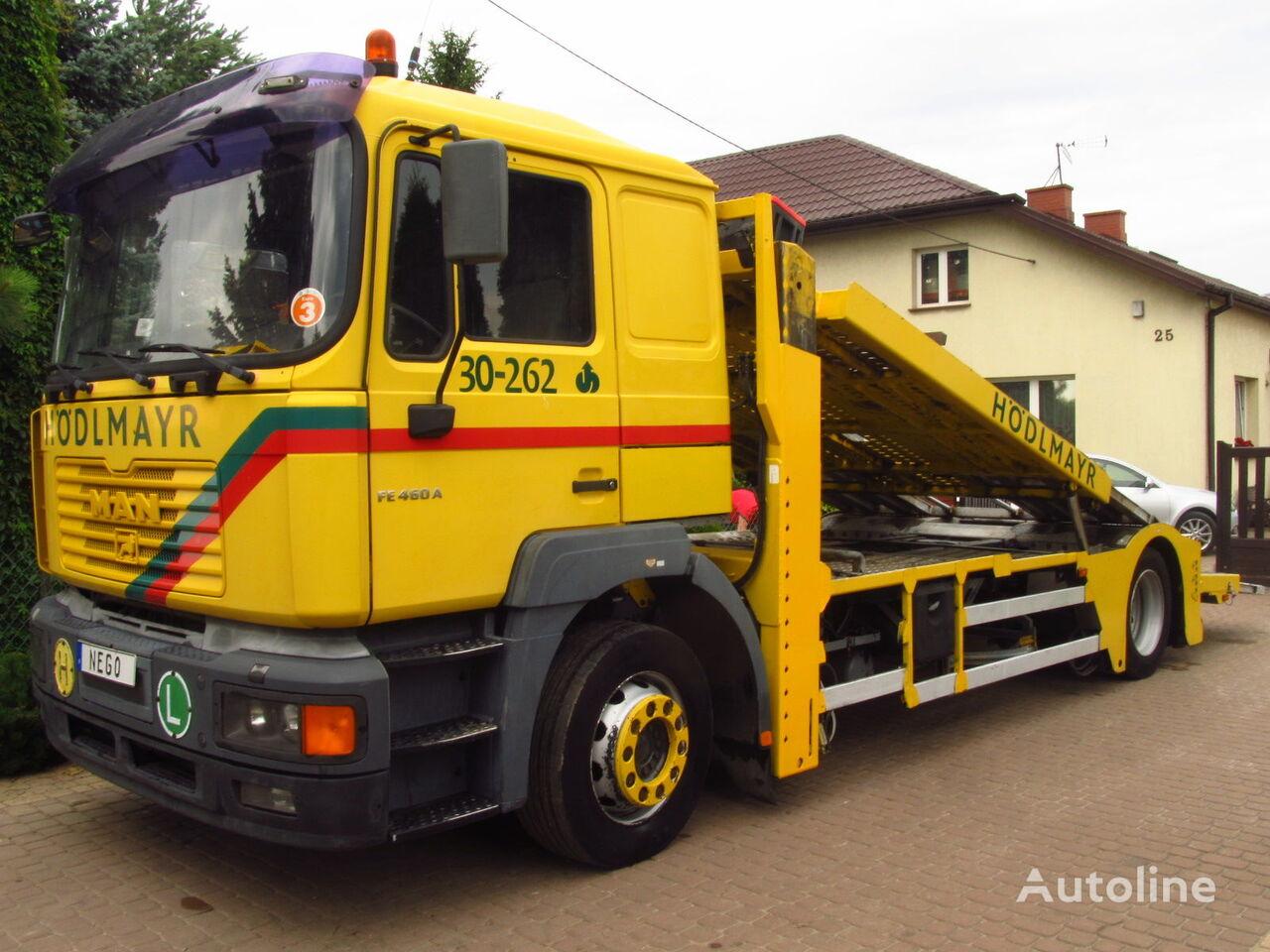 ciężarówka do przewozu samochodów MAN TGA FE460 Euro-3 LKW TRANSPORTER *ONLY 830.000km*RETARDER