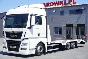 ciężarówka do przewozu samochodów MAN TGX 26.460 XLX , E6 , 6X2 , NEW BODY 7,9m , ramps ,winch , remot