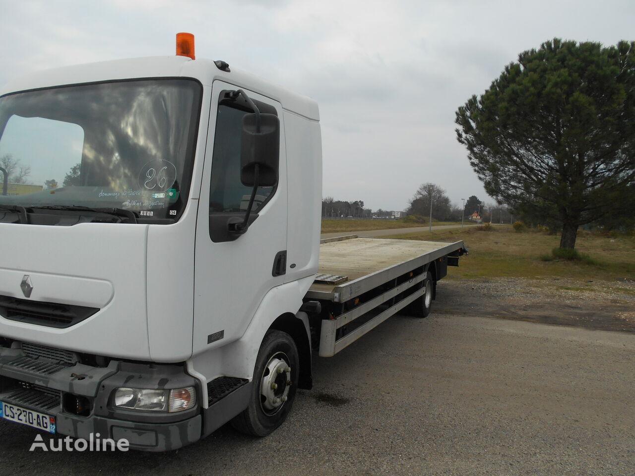 ciężarówka do przewozu samochodów RENAULT 220 dci