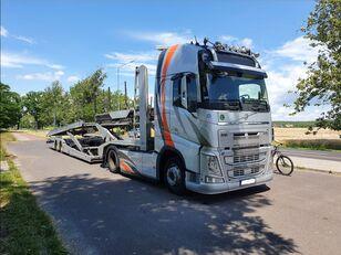 ciężarówka do przewozu samochodów VOLVO FH + LOHR EHR 200 C2