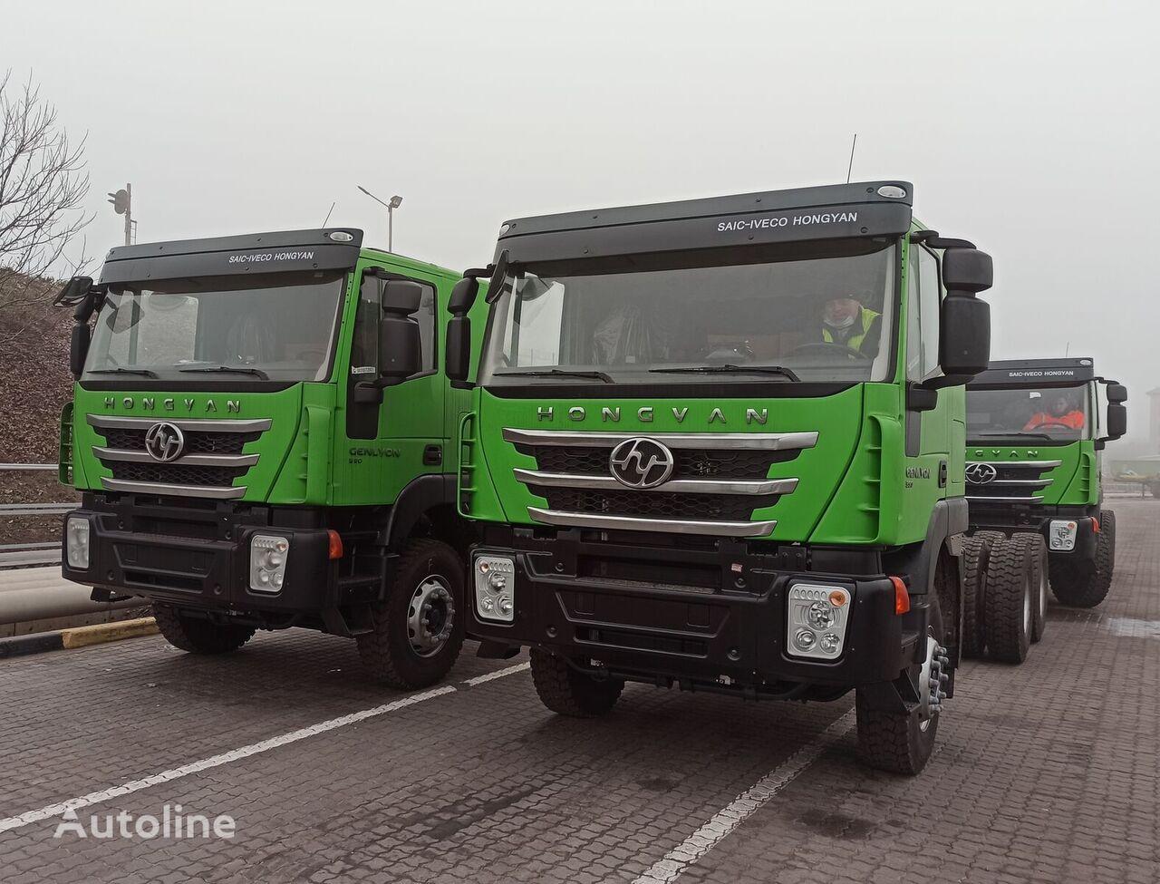 nowa ciężarówka do przewozu zboża HONGYAN GENLYON