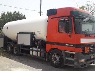 ciężarówka do transportu gazu MERCEDES-BENZ ACTROS 2540