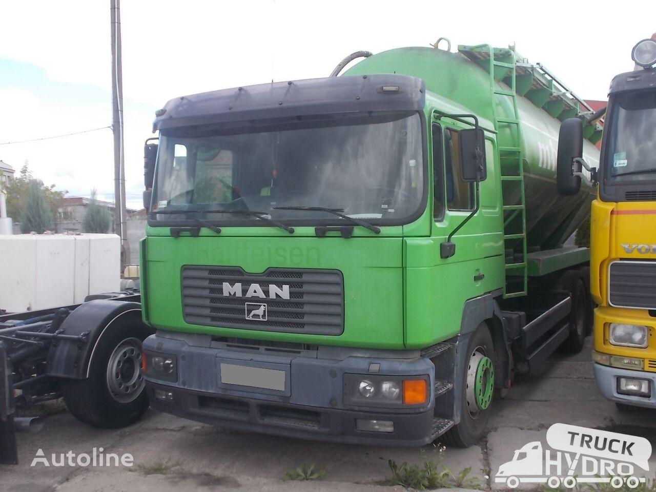 ciężarówka do transportu mąki MAN 26.414 F2000 - Z KOMPRESOREM
