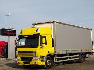 ciężarówka firanka DAF CF 75.310 / CURTAINSIDER - 8,6 M / ELEVATOR / MANUAL / SLEEP CAB
