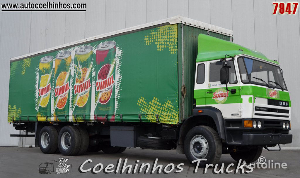 ciężarówka firanka DAF 2500 Ti