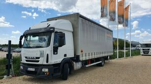ciężarówka firanka IVECO Eurocargo 120 E 25 2 beds ,1,5 t tail lift