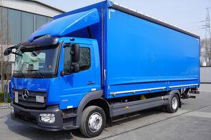 ciężarówka firanka MERCEDES-BENZ Atego 1218, E6, 100,000 km, curtain / curtain 18 EPAL, lift