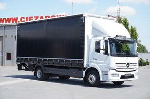 ciężarówka firanka MERCEDES-BENZ Atego 1524 , E6 , 90.000km , GVW 15.000kg , Tarpulin 7,2m , tail