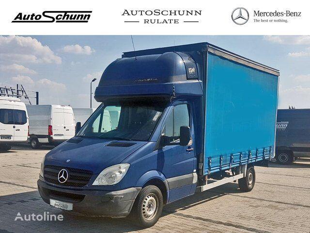 ciężarówka firanka MERCEDES-BENZ Sprinter 313 CDI PRELATA-8 EUROPALETI-WEBASTO