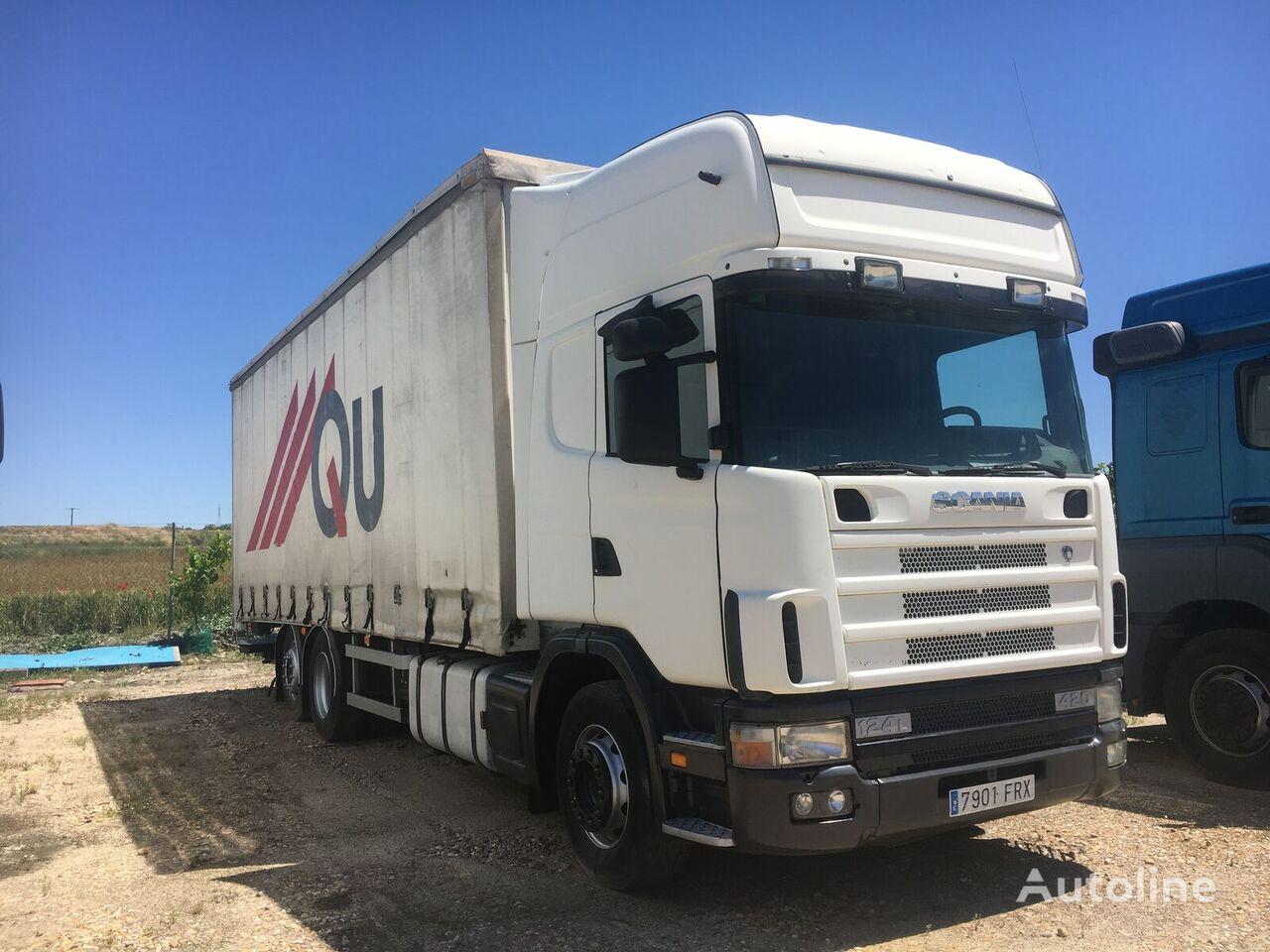 ciężarówka firanka SCANIA 420. TAUTLINER 20 PALETS
