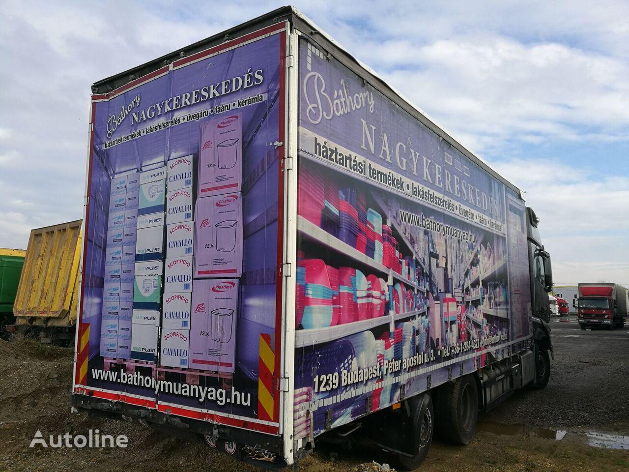 ciężarówka firanka SCHWARZMÜLLER LBA ROLÓPONYVÁS FELÉPÍTMÉNY