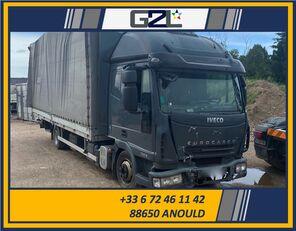 uszkodzony ciężarówka furgon IVECO EUROCARGO 75E18 *ACCIDENTE*DAMAGED*UNFALL*