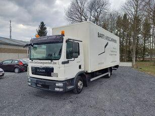 ciężarówka furgon MAN TGL 8.180 taillift/hayon - euro 5 - very good tyres