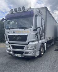 ciężarówka furgon MAN TGX 26.480 . 36 Europalet + przyczepa