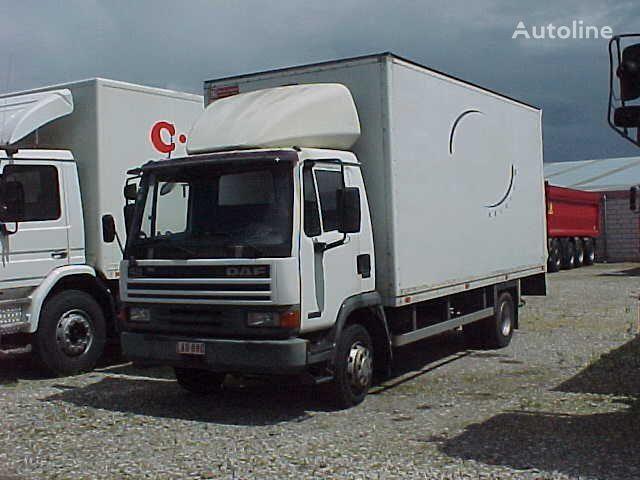 ciężarówka furgon DAF AE45 + Laadklep / Tail lift