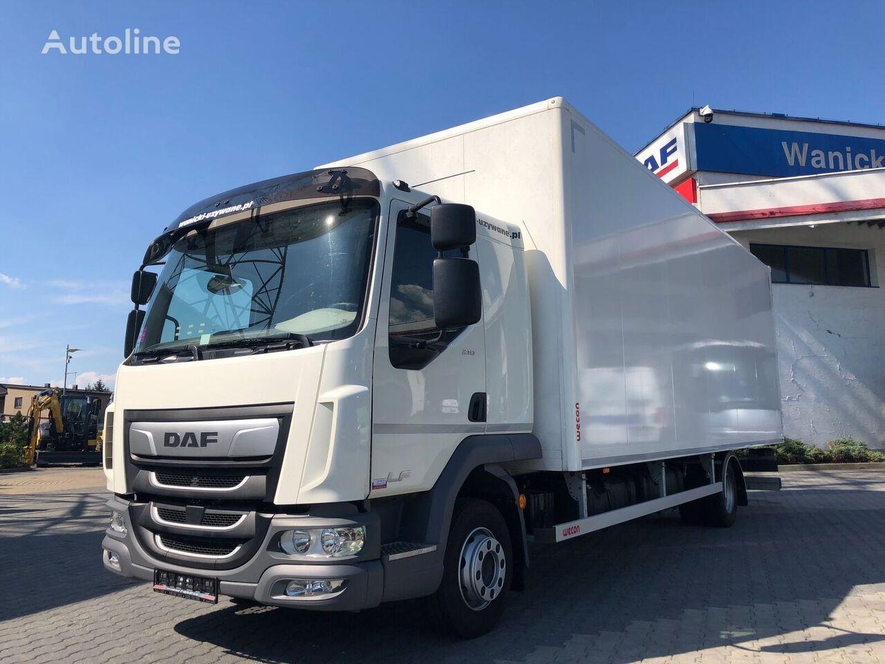 ciężarówka furgon DAF LF 210 FA