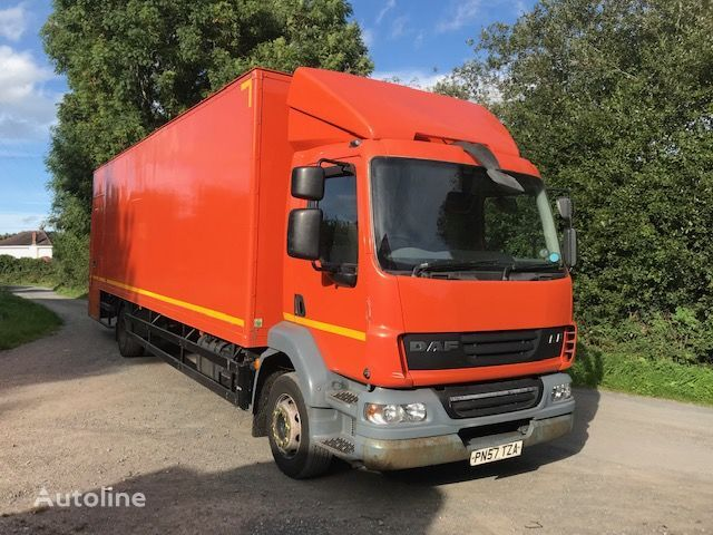 ciężarówka furgon DAF LF 55 180