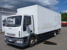 ciężarówka furgon IVECO EuroCargo 120 E18