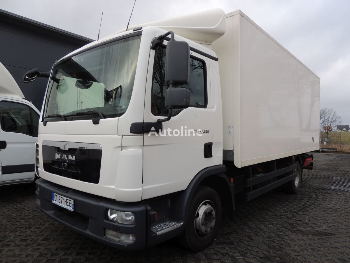 ciężarówka furgon MAN TGL 10.220
