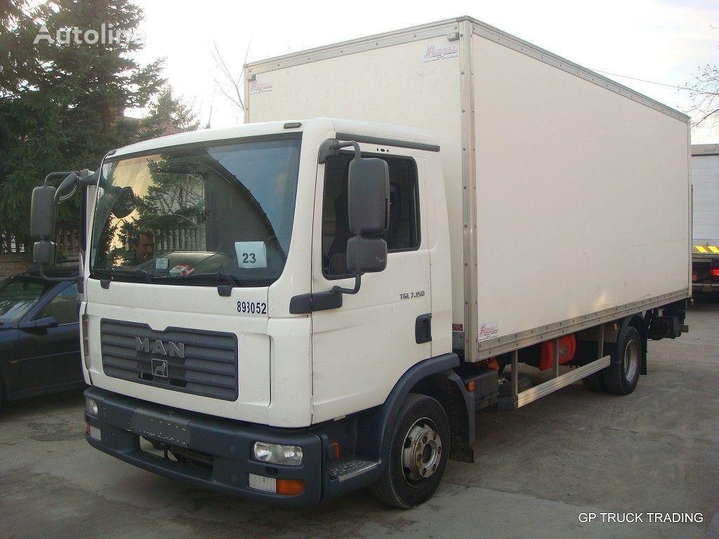 ciężarówka furgon MAN TGL 7.150