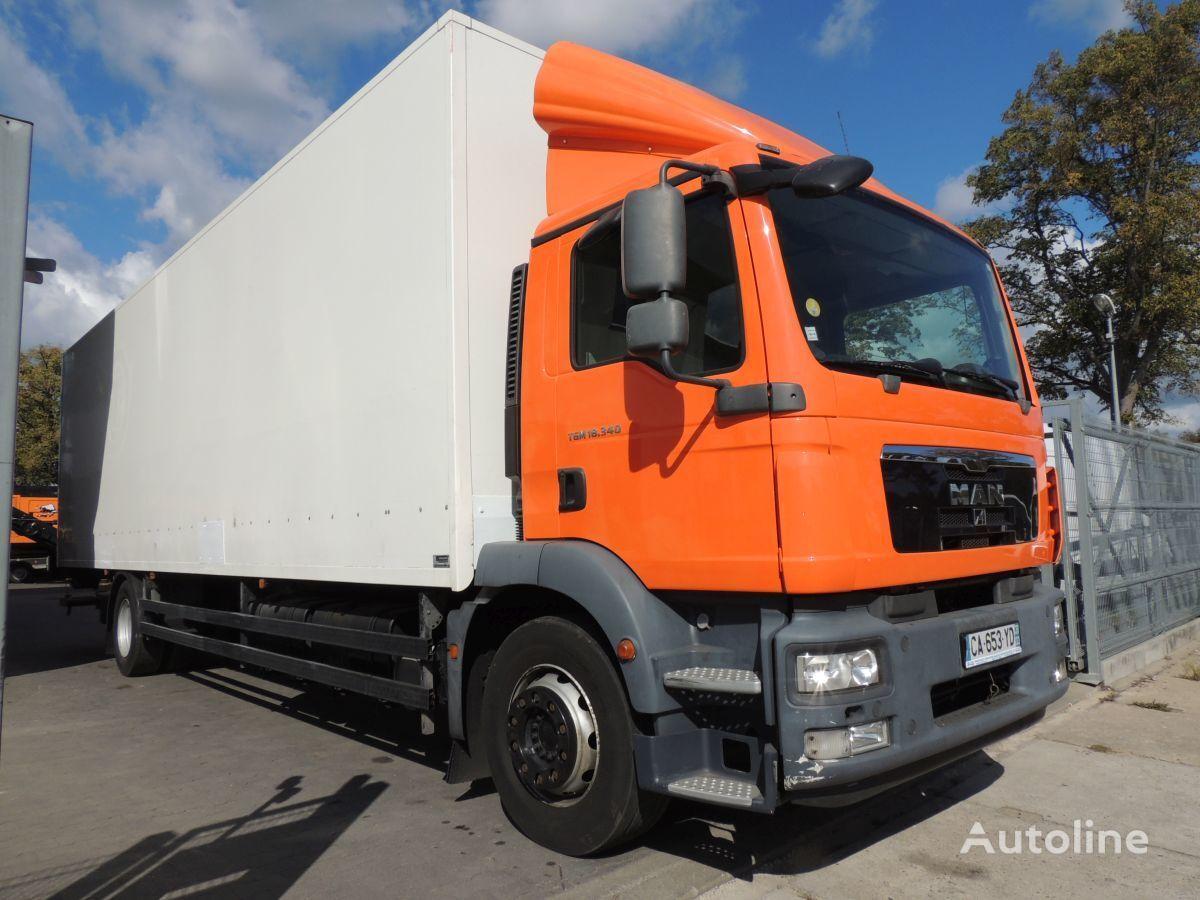 ciężarówka furgon MAN TGM 18.340