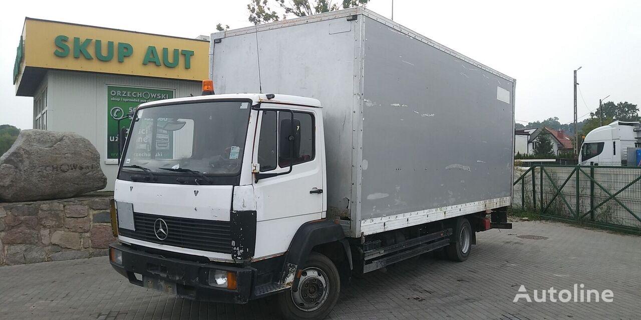 ciężarówka furgon MERCEDES-BENZ 814 d