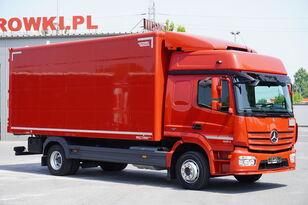 ciężarówka furgon MERCEDES-BENZ Atego 1224, E6, 4x2, 6.10m container, GLOB cabin, retarder