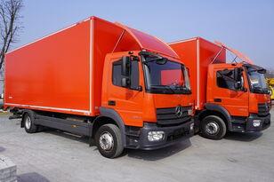 ciężarówka furgon MERCEDES-BENZ Atego 1224, E6, 4x2, 7.10 m container, retarder, 3-person cabin