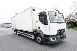 ciężarówka furgon RENAULT D12 , E6 , 4x2 , Box 18 EPAL side door  , tail lift Dhollandia