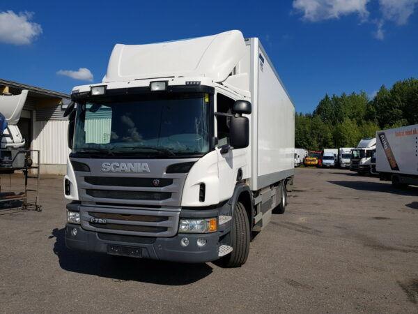 ciężarówka furgon SCANIA P270 CNG
