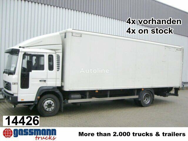 ciężarówka furgon VOLVO FL 6-12 4x2 Klima/Umweltplakette gelb