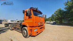 ciężarówka hakowiec MULTILIFT Камаз 658667