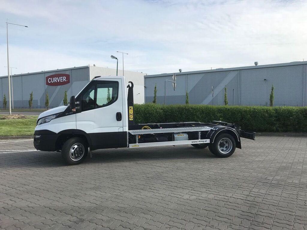 nowa ciężarówka hakowiec IVECO 50C15