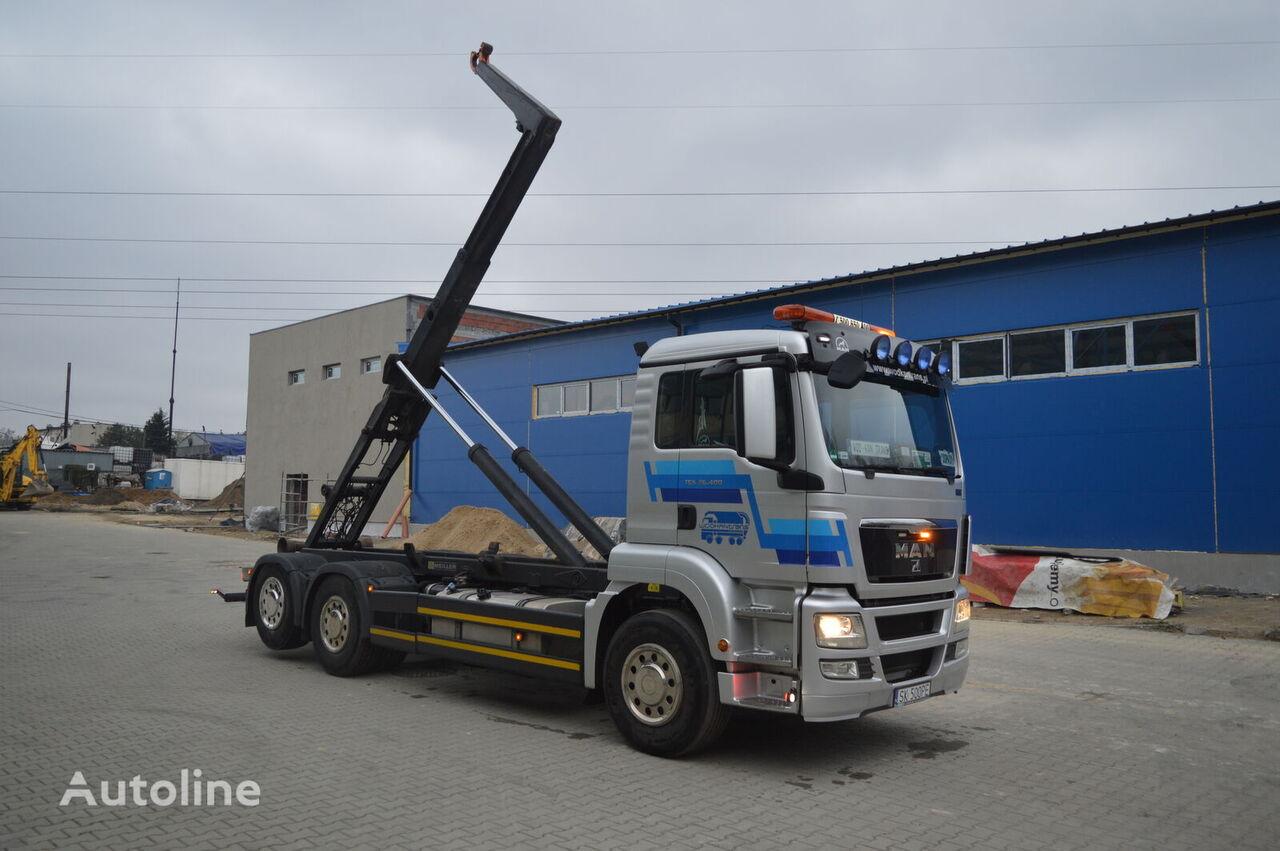 ciężarówka hakowiec MAN TGS 26.400