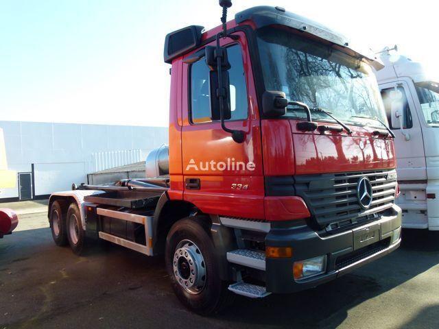 ciężarówka hakowiec MERCEDES-BENZ 2640 K Haaksysteem LEEBUR / 3 Pedals