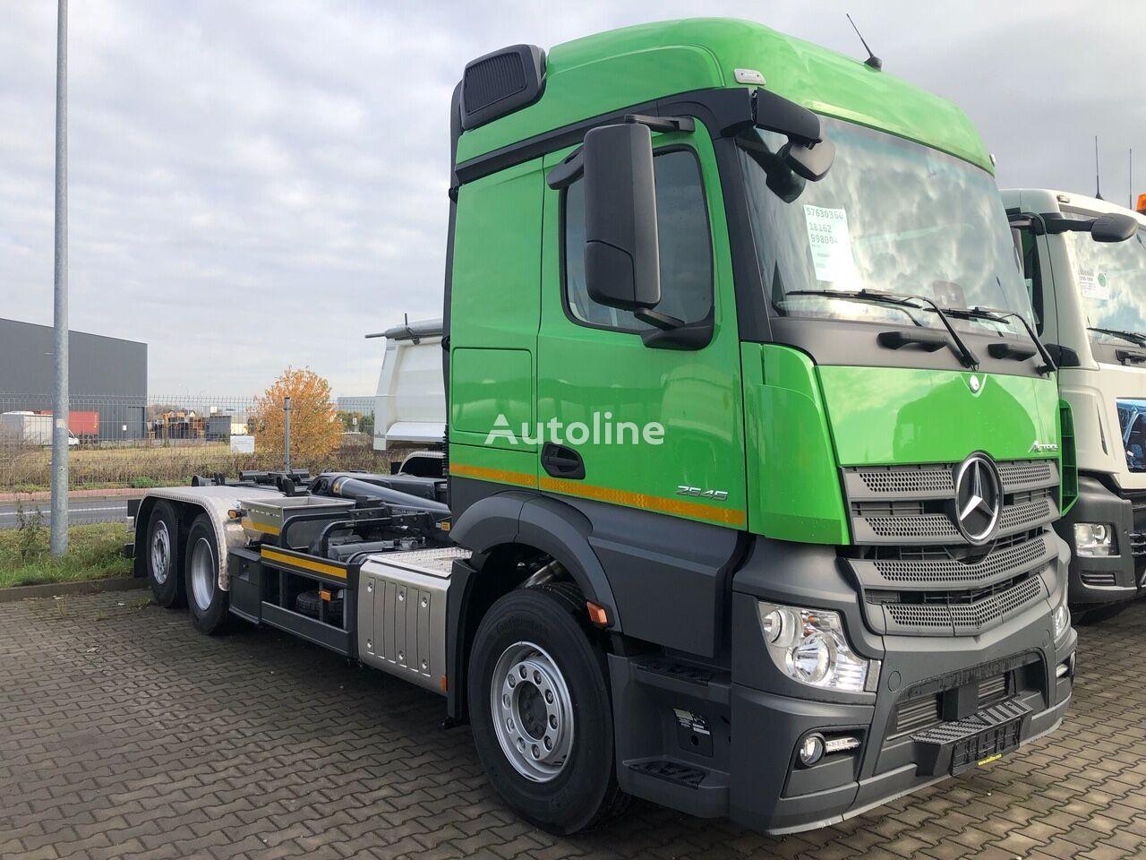 nowa ciężarówka hakowiec MERCEDES-BENZ Actros 2545L 6X2