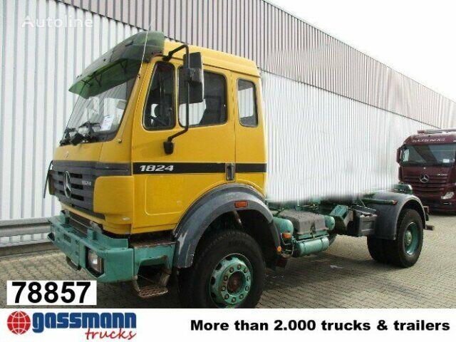 ciężarówka hakowiec MERCEDES-BENZ SK 1824 AK Atlas Abroller 3-Seiten kippbar