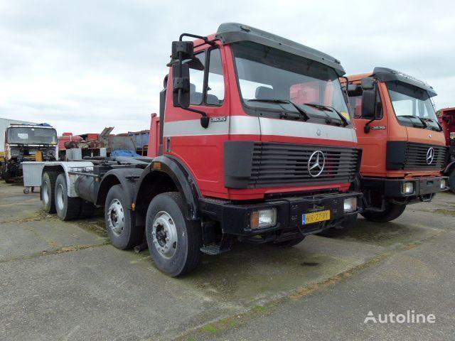 ciężarówka hakowiec MERCEDES-BENZ SK - 3635 K / 8x4