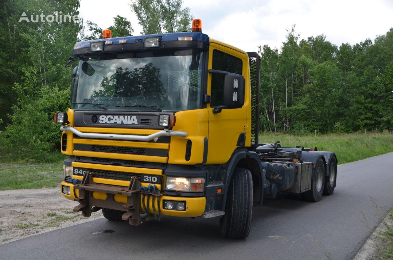 ciężarówka hakowiec SCANIA 94 G