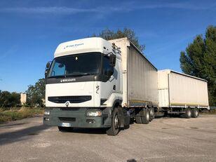 ciężarówka handlowa RENAULT PREMIUM 420 DCI + biga Omar
