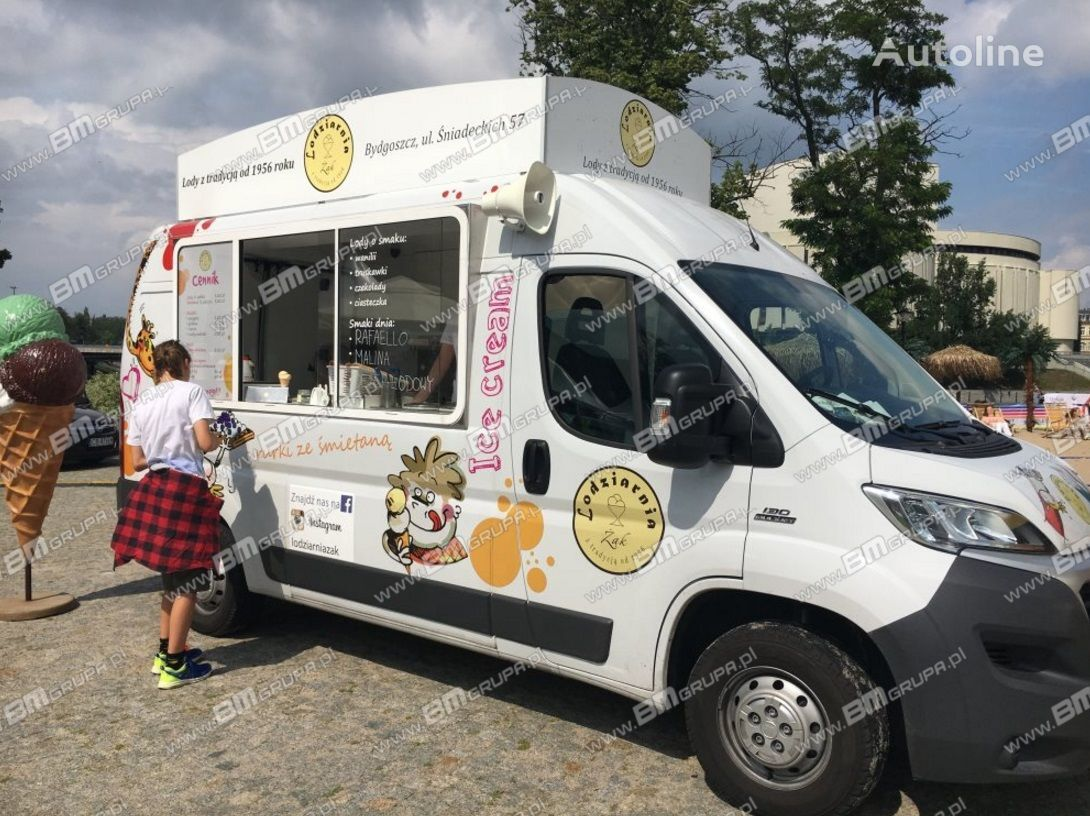 nowa ciężarówka handlowa BMgrupa Food Truck, Imbissmobile, zabudowa na pojeździe