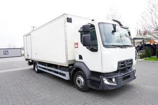 ciężarówka izoterma RENAULT D12 , E6 , 4x2 , Box 18 EPAL side door  , tail lift Dhollandia