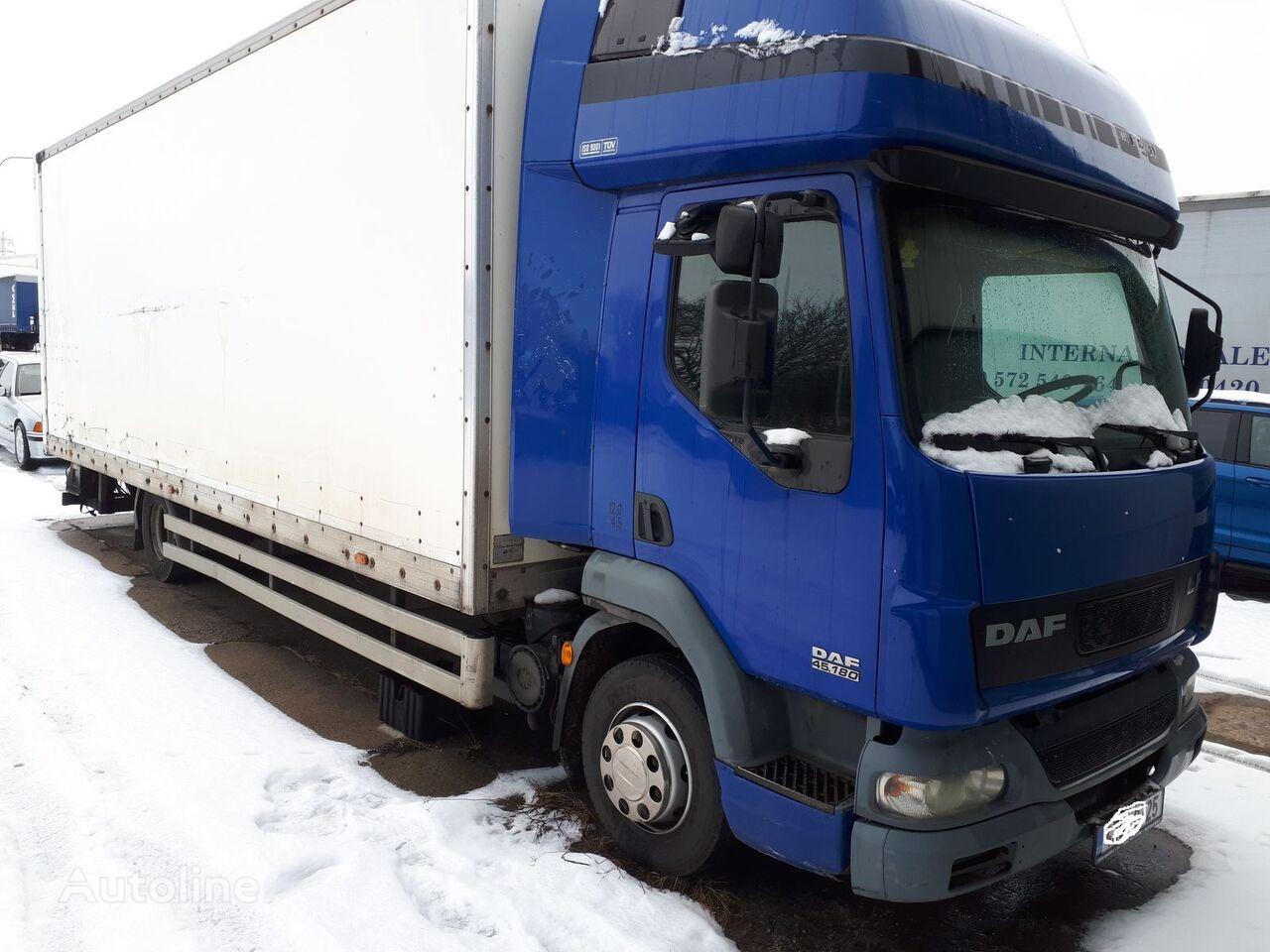 ciężarówka izoterma DAF LF45 FA 180