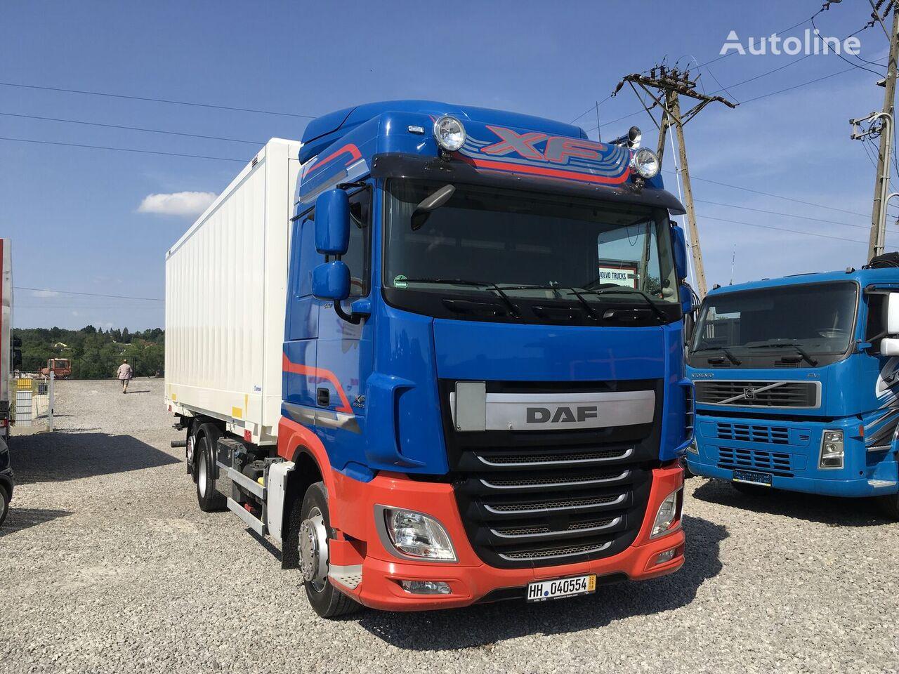 ciężarówka izoterma DAF XF 106.440 E6 105 kontener 6x2 , Super stan