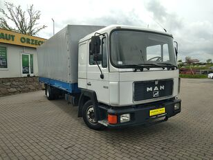ciężarówka plandeka MAN 12.232