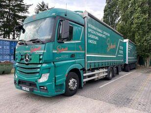ciężarówka plandeka MERCEDES-BENZ 2545 L 6X2 ACTROS / EURO 6