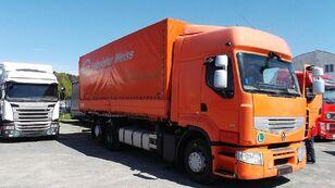 ciężarówka plandeka RENAULT PREMIUM 460