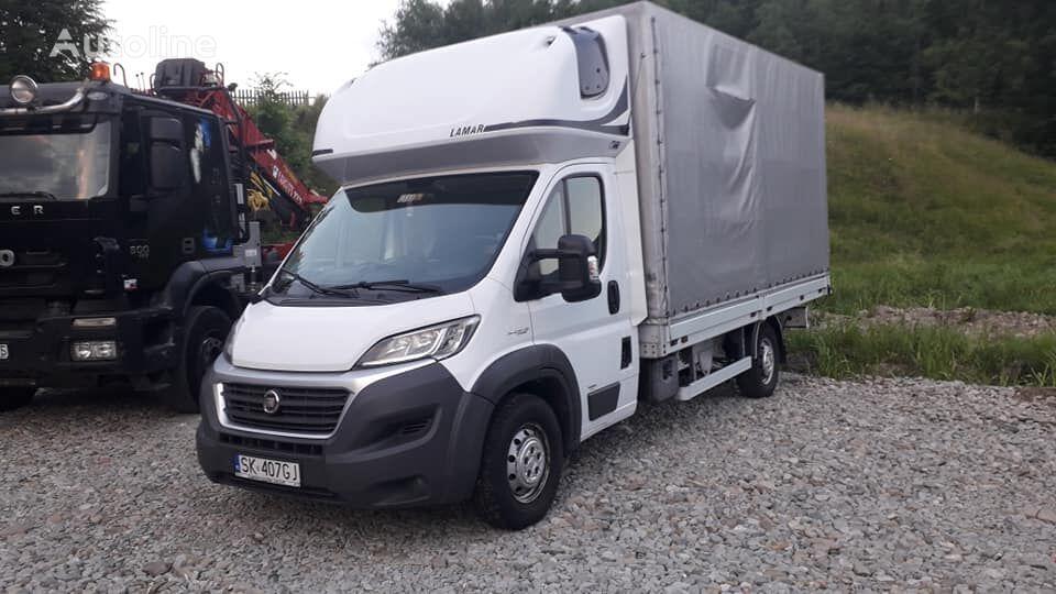 ciężarówka plandeka FIAT DUCATO 3.0 180KM 10euro palet