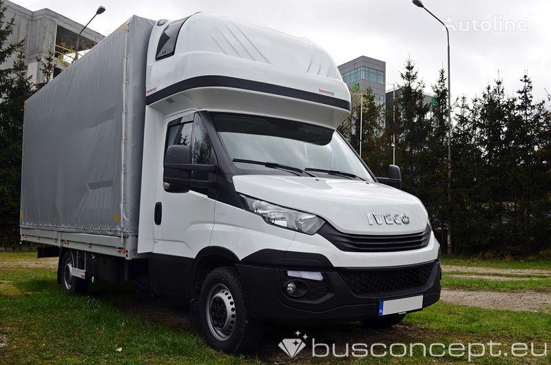 nowa ciężarówka plandeka IVECO Daily 10EP 35S18 TOWBAR, TACHO